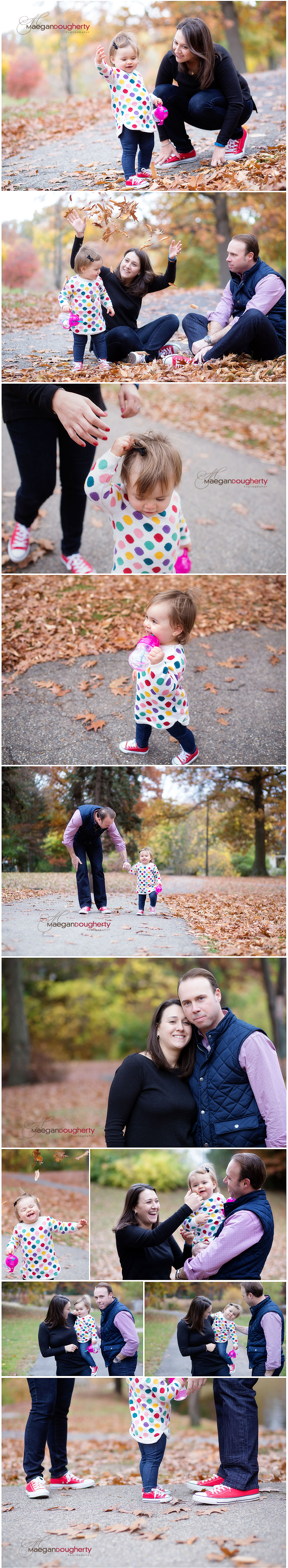 fall family portraits in montclair