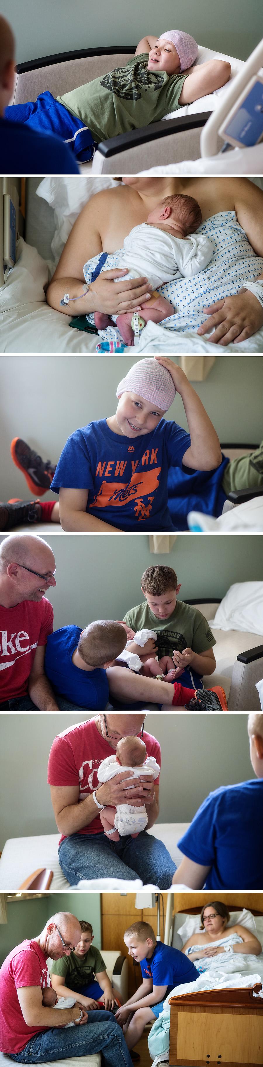 Bergen County NJ Hospital Newborn Session